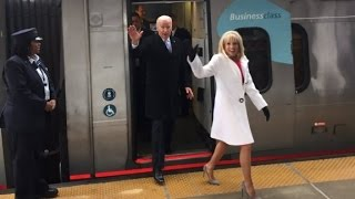 Joe Biden takes the Amtrak home - CNN