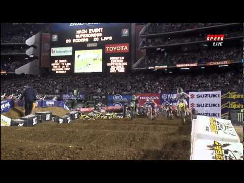 2012 AMA Supercross Rd 6 San Diego  Part 2