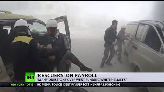 'Rescuers' on payroll: White helmets get $12MN from West despite dubious reputation - RUSSIATODAY