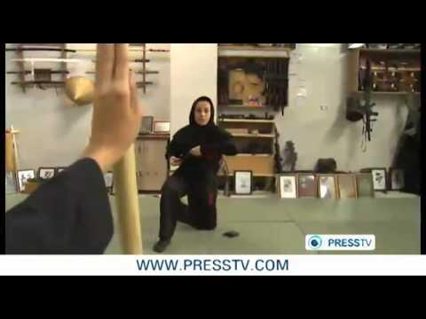 نساء النينجا من ايران ضد اسرائيل !!!!!.flv
