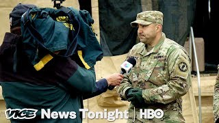 Trump's Border Troops Have Nothing To Do  (HBO) - VICENEWS