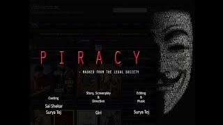 PIRACY || Telugu Short Film || 2019 || (FULL LENGTH) (FHD). - YOUTUBE
