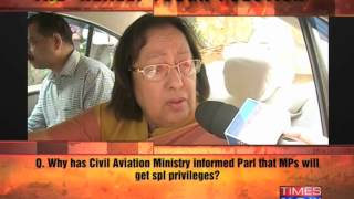 Really Tough Question: Najma Heptullah - TIMESNOWONLINE