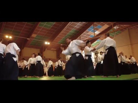 Stage International d'Aikido du VIGAN 1990/2015 - Episode 1 : SAOTOME Sensei