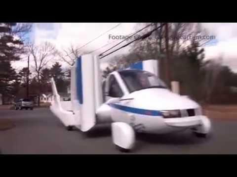 Transition el primer auto volador de la empresa Terrafugia