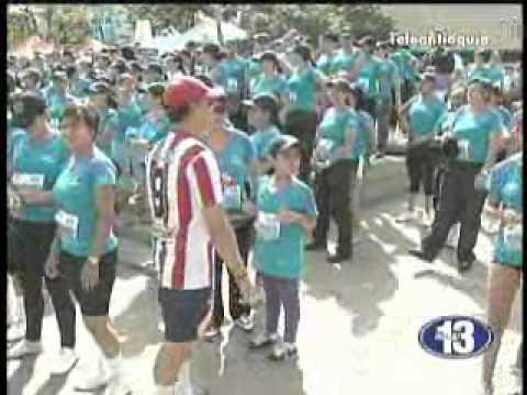 6.500 mujeres participaron de la Carrera de la Mujer en Medellín.
