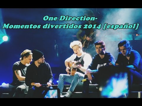 One direction- Momentos divertidos 2014 [español]