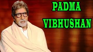 Amitabh Bachchan being thankful for his 'Padma Vibhushan' award | Shamitabh Movie
