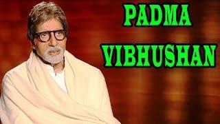 Amitabh Bachchan being thankful for his 'Padma Vibhushan' award | Shamitabh Movie
