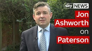 Jon Ashworth on Paterson - SKYNEWS