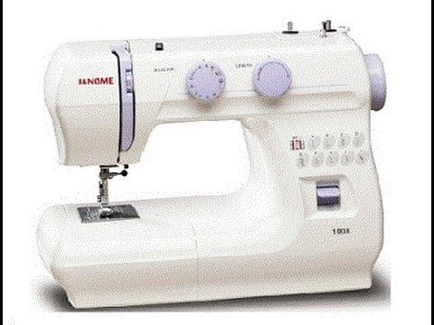 Maquina de coser Janome 1008