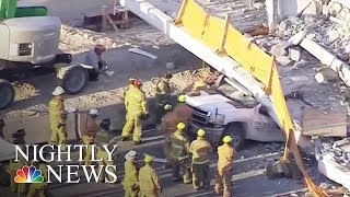 New details of possible problems with Miami bridge as more victims identified | NBC Nightly News - NBCNEWS