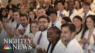 NYU Makes Tuition Free For Medical Students, Hoping To Bring Change To The Prof. | NBC Nightly News - NBCNEWS