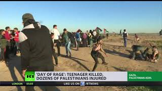 'Day of rage': Teenager killed, dozens of Palestinians injured - RUSSIATODAY