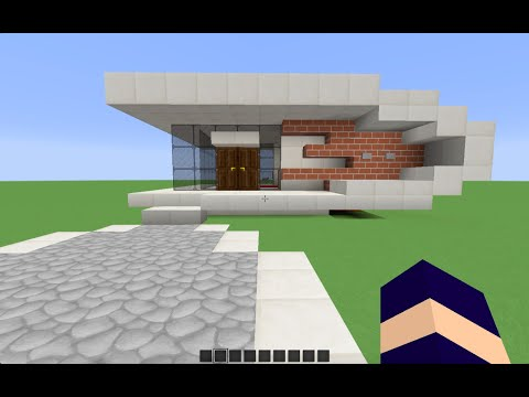 Related video for Maison moderne minecraft tuto