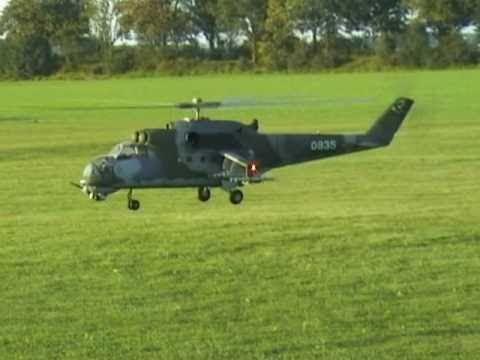2. Niederrhein Helidays - Mil Mi24 Hind