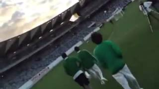 اعتداء ناصر الشمراني علي مشجع سعودي