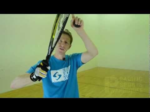 Hit a Perfect Forehand Swing in Racquetball