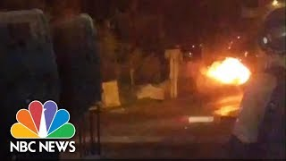 Cellphone Bomb At Ancient Tomb Destroyed By Controlled Explosion | NBC News - NBCNEWS
