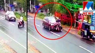 CCTV footage shows horror moment from wayand accident