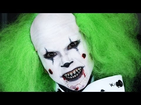 scary clown makeup for men Simple Clown Makeup Men