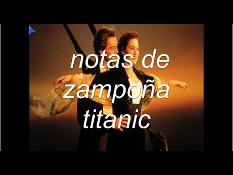 notas de zampoña titanic
