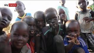Sudan refugees 'too terrified to return home' - SKYNEWS