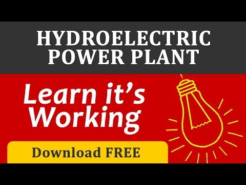 hydro electric power plant full 3d animation