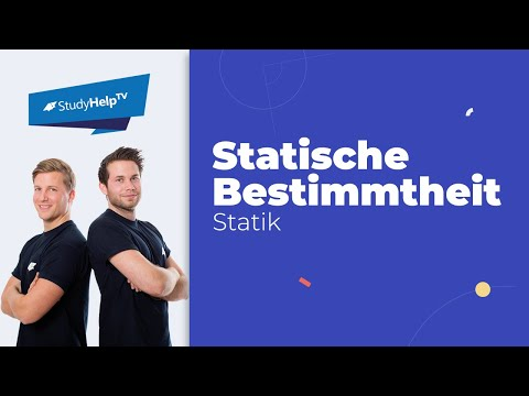 Related video for Statische bestimmtheit