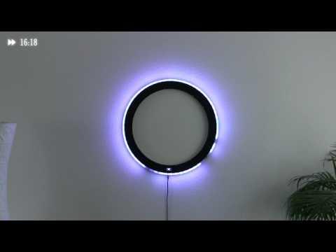 Светодиодный круг — Мистические часы