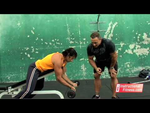 Instructional Fitness - Spider Curls