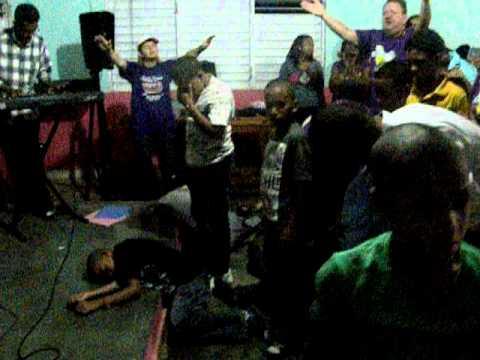 Altar Service at Camp