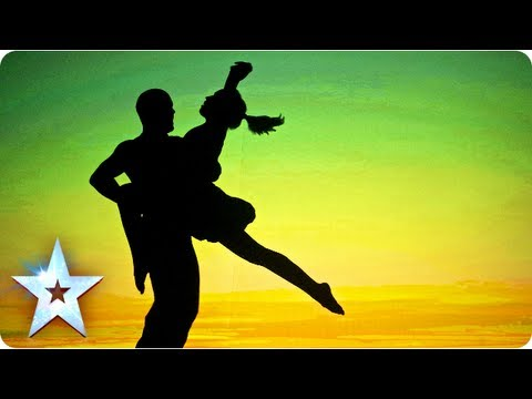Attraction's semi-final shadow theatre performance | Semi-Final 5 | Britain's Got Talent 2013