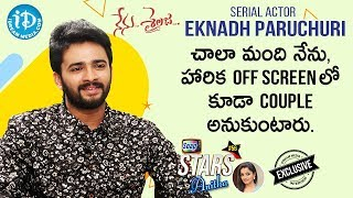 Nenu Sailaja Serial Actor Eknadh Paruchuri Exclusive Interview | Soap Stars with Anitha #56 - IDREAMMOVIES