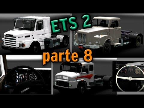 Euro Truck Simulator 2: Novos caminhões - parte 8