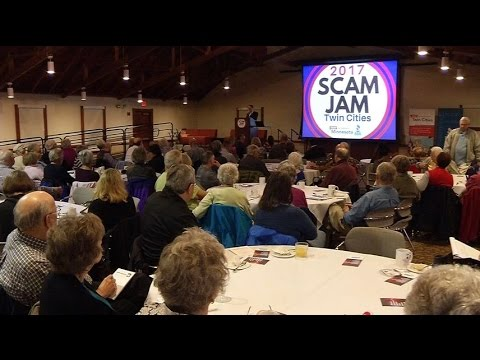 Seniors battle scammers, attend Scam Jam