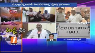 Counting For MLC Poll Results in Vizag   TDP Vs BJP   iNews - INEWS