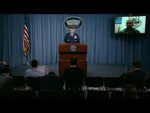 Глава Центрального командования ВВС США, генерал-лейтенант Джеффри Харриган рассказал подробности об ударе возглавляемой американцами сирийской коалиции в Дейр-Эз-Зоре.