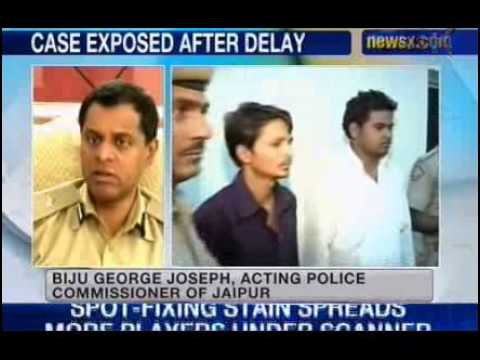NewsX : Jaipur sex scandal.