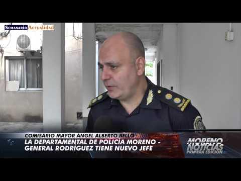 La Departamental de Policía Moreno General Rodríguez tiene nuevo jefe