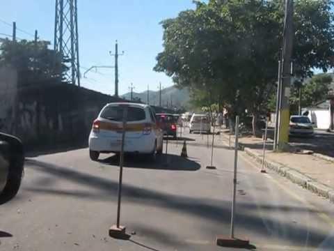 PERCURSO DA PROVA PRÁTICA DO DETRAN EM CAMPO GRANDE - RJ