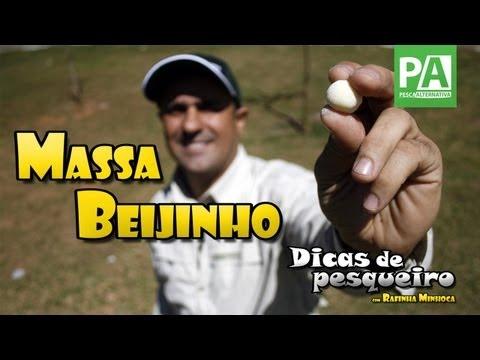 Dicas de Pesqueiro - Massa Beijinho