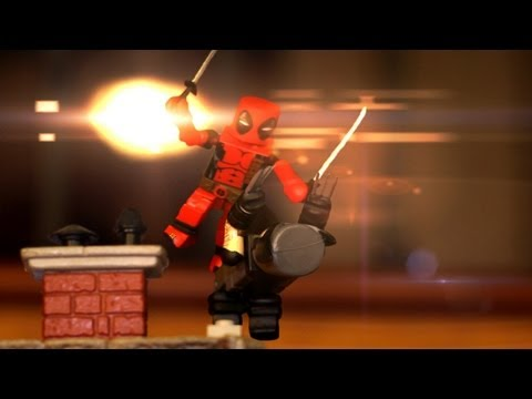 Marvelous Shorts: Wolverine vs Deadpool Stop Motion