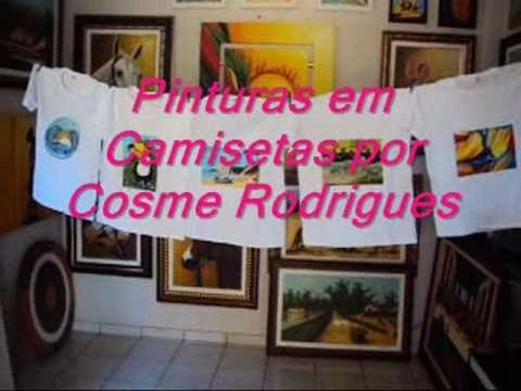 Pinturas em Camisetas por Cosme Rodrigues_1.wmv