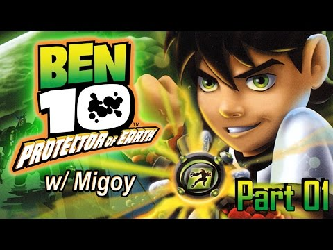 Ben 10: Protector of Earth (PS2) Part 01 | Too Much Gaming