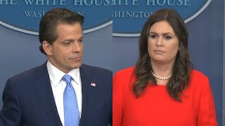 Sanders, Scaramucci full White House briefing - CNN