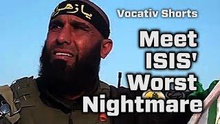 """""""أبو عزرائيل"""" يطارد داعش"""