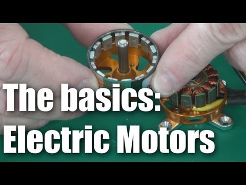 RC BASICS:  brushless electric motors