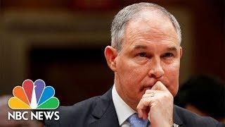 Watch Live: EPA Chief Scott Pruitt testifies on budget - NBCNEWS