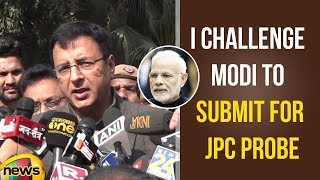 I Challenge PM Modi To Submit For JPC Probe Into Rafale Jet Deal Says Surjewala | Mango News - MANGONEWS